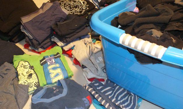 Wäsche waschen, waschen, waschen…