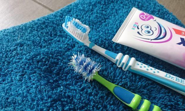 Meine Geduldsprobe: Zähne putzen!