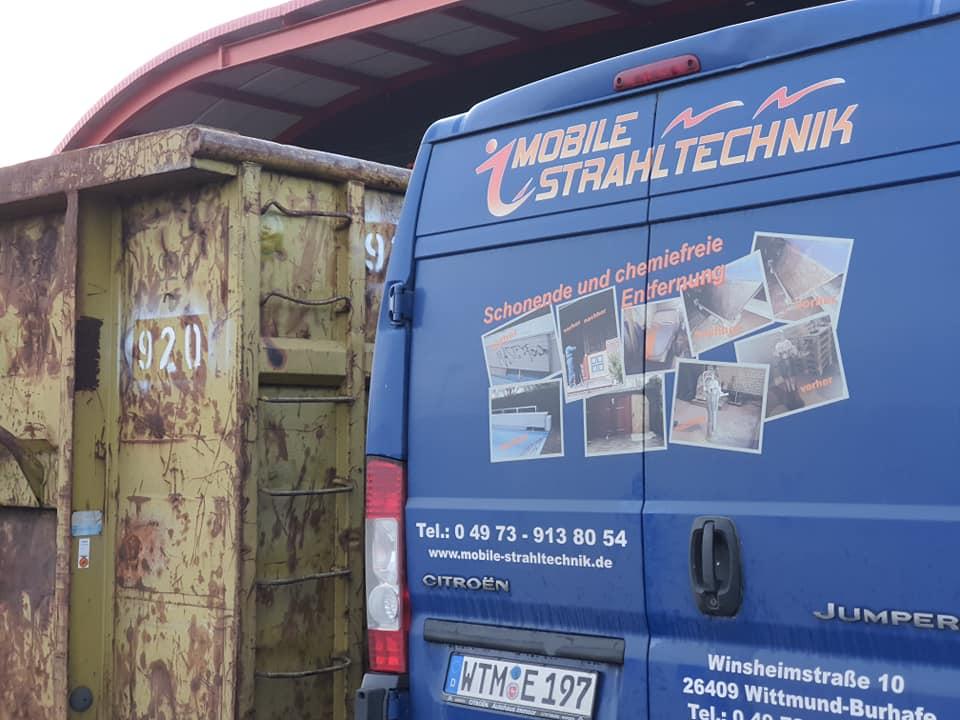 Jonny Eiben - Mobile Strahltechnik in Jever