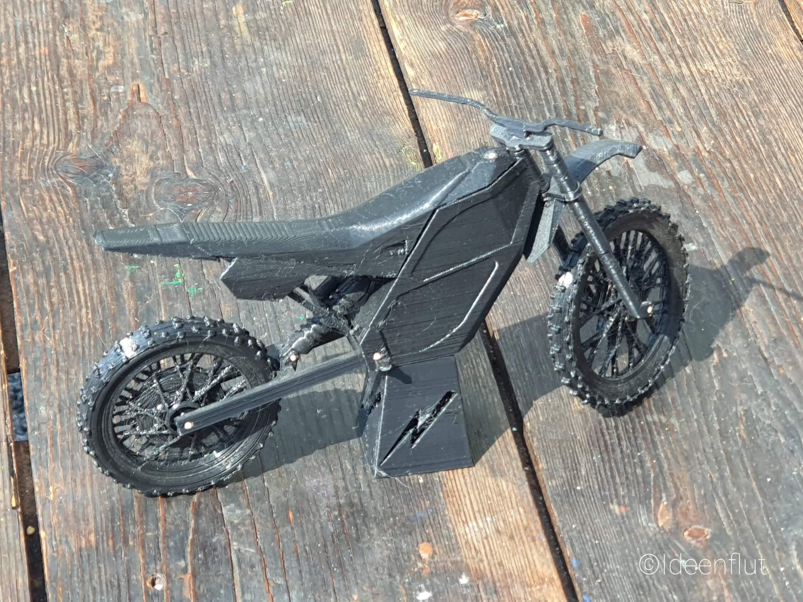 3D Modell Envecotricity Elektro Motocross